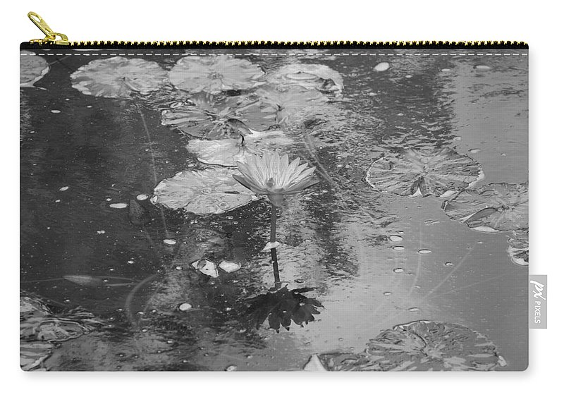 Lilly Pond Carry-all Pouch featuring the photograph Lilly Pond by Rob Hans