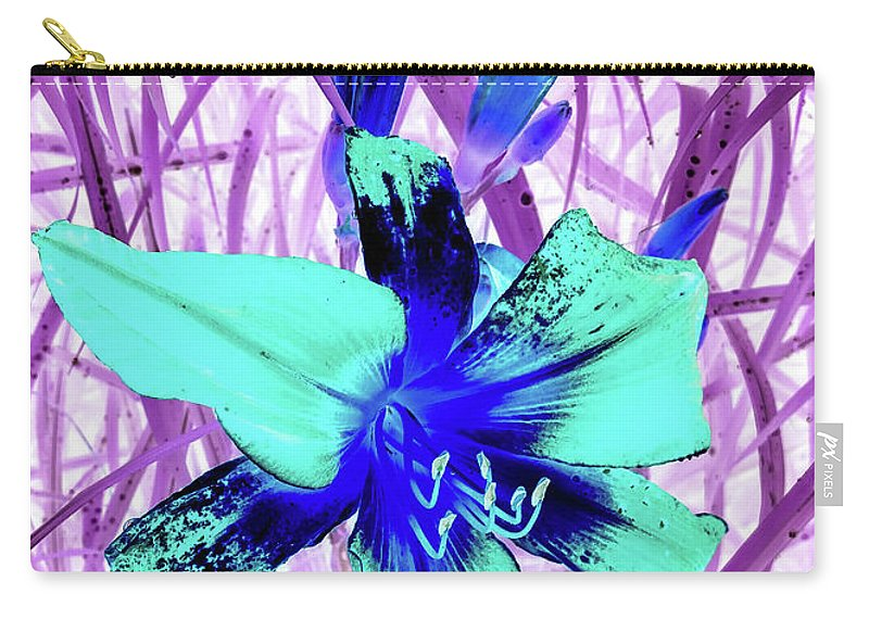 Abstract Carry-all Pouch featuring the photograph Lily Fantasy by Jennifer Kohler