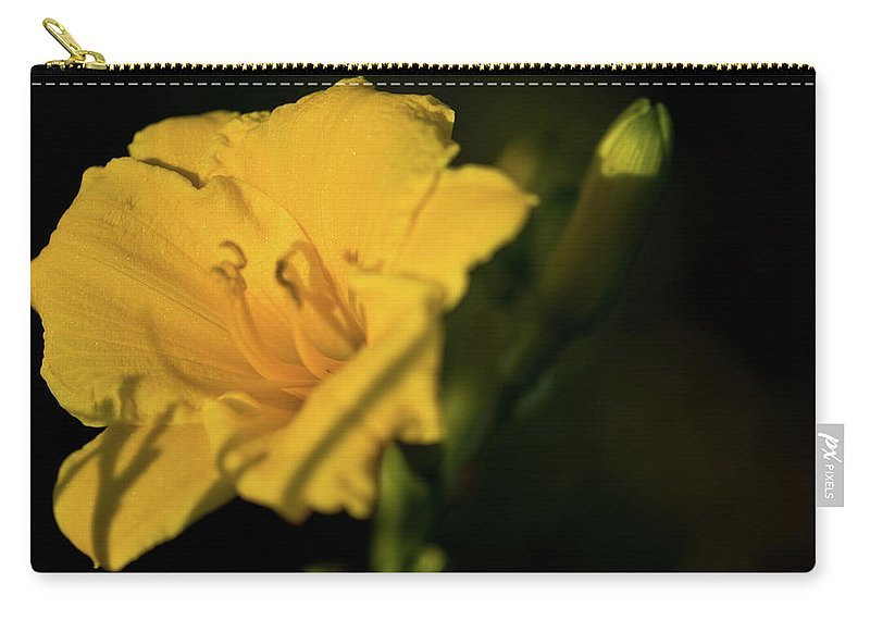 Lily Carry-all Pouch featuring the photograph Lily by Paul Mangold
