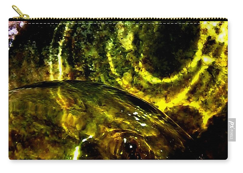 Glass Ball Carry-all Pouch featuring the photograph Limelight by Will Borden