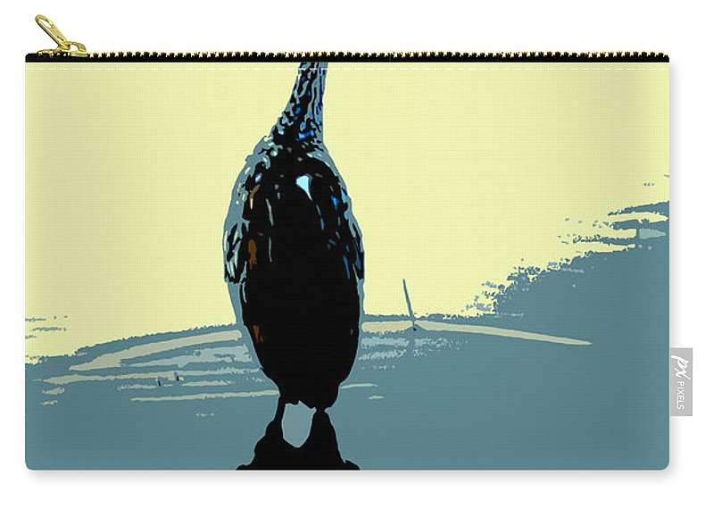 Bird Carry-all Pouch featuring the photograph Limp Kin In Color by David Lee Thompson