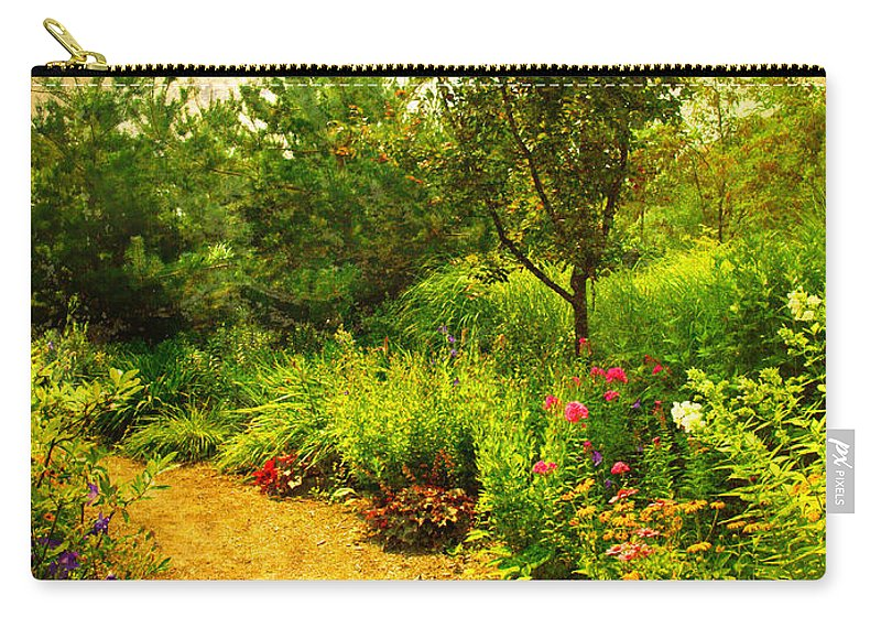 Gardens Carry-all Pouch featuring the photograph Linden Gardens 2 by Tara Turner