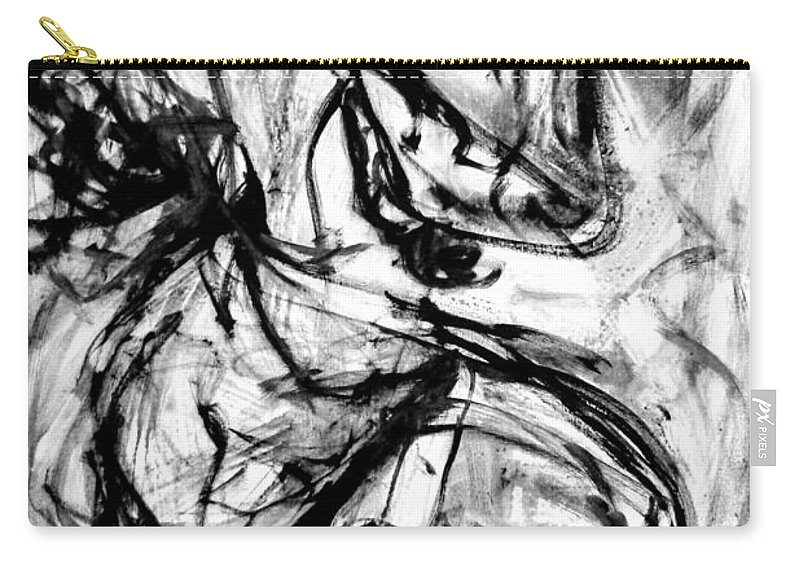 Carry-all Pouch featuring the painting Line Of Life by Wanvisa Klawklean