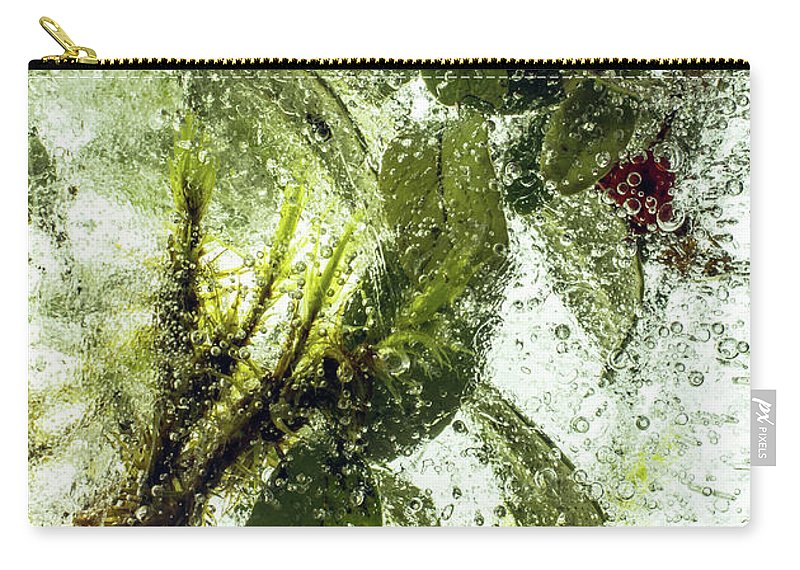 Air Carry-all Pouch featuring the photograph Lingonberry by Jarmo Honkanen