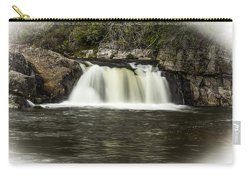 Waterfall Carry-all Pouch featuring the photograph Linville Falls by Stephen Brown