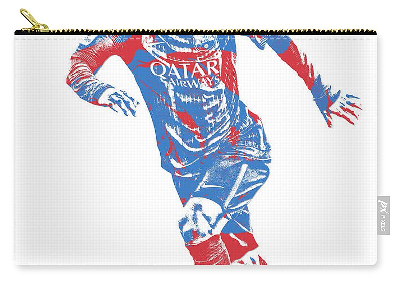 a612d6fe1b9 Lionel Messi F C Barcelona Argentina Pixel Art 1 Carry-all Pouch for Sale  by Joe Hamilton