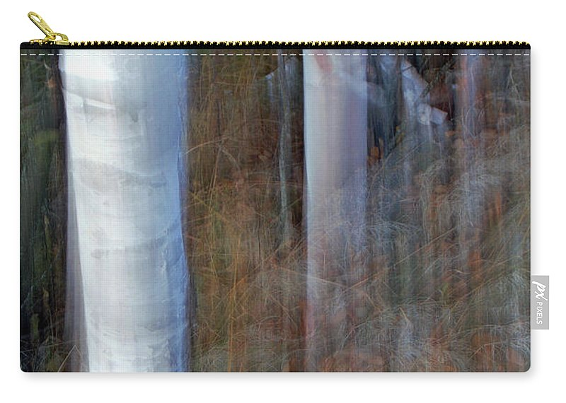 Listen Carry-all Pouch featuring the photograph Listen by Bill Morgenstern