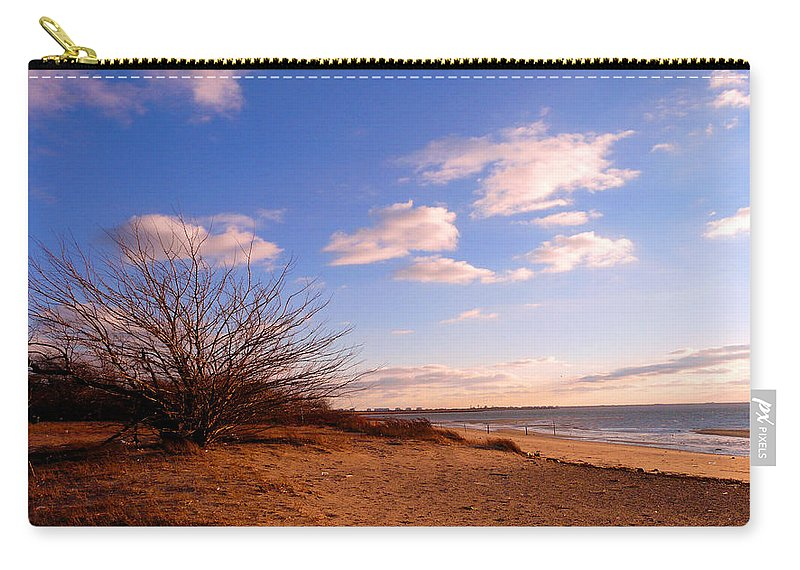 Landscape Carry-all Pouch featuring the photograph Listen To The Quiet by Kendall Eutemey