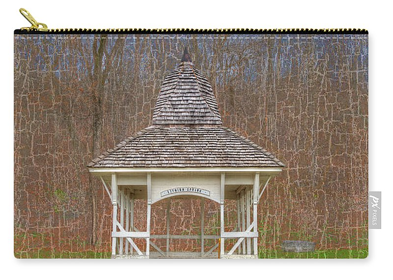 Hdr Carry-all Pouch featuring the photograph Lithium Spring by Larry Braun