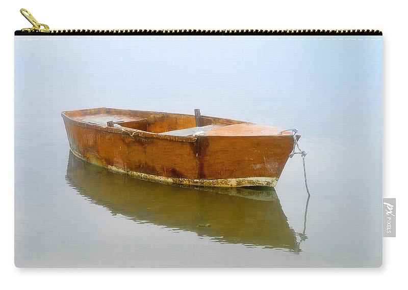 Boat Carry-all Pouch featuring the photograph Little Boat by David Lee Thompson