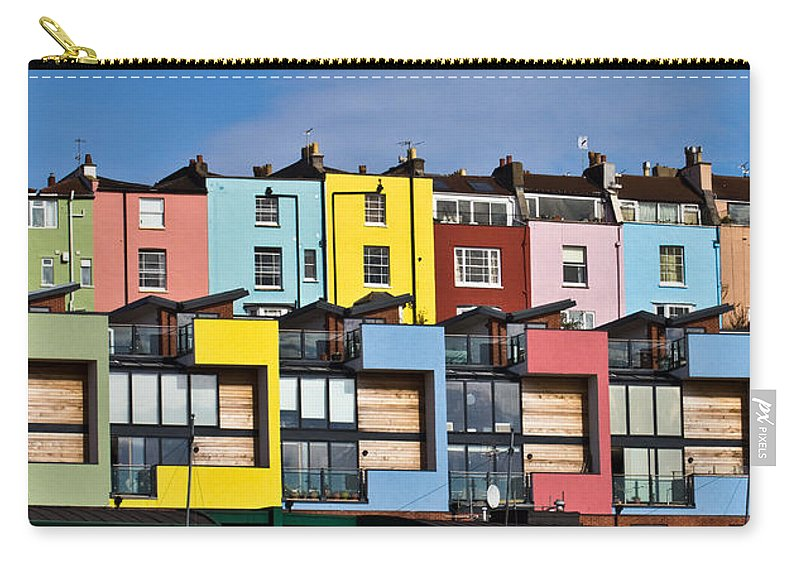 Bristol Carry-all Pouch featuring the photograph Little Boxes by Brian Roscorla