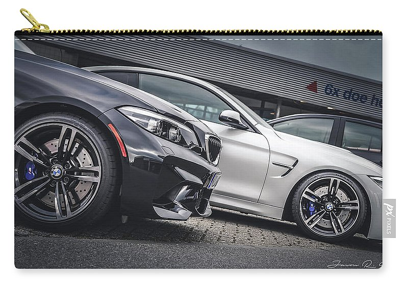 Bmw Carry-all Pouch featuring the photograph Little Brother, Big Brother by Jason Steele