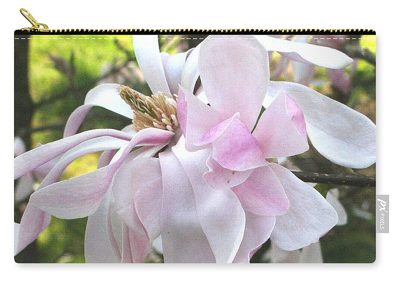 Flower Carry-all Pouch featuring the photograph Little English Flower by Sarah Madsen