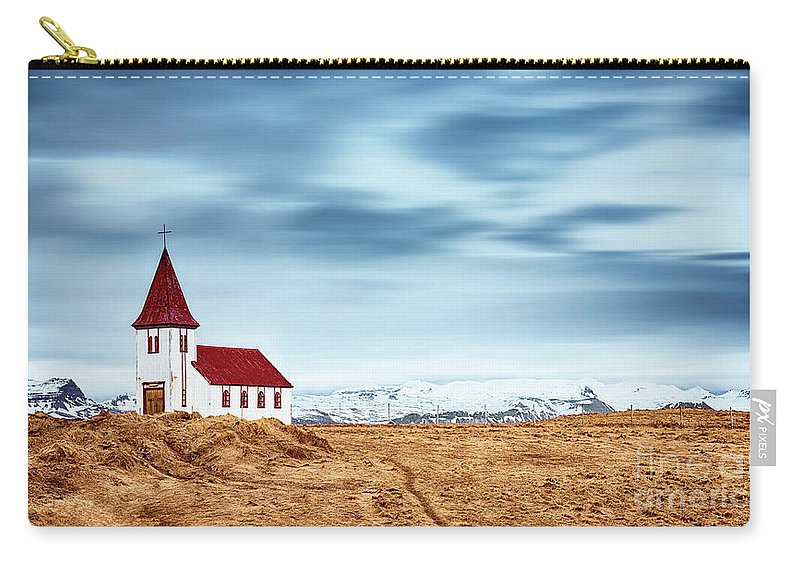 Angel Carry-all Pouch featuring the photograph Little Pretty Church by Svetlana Sewell