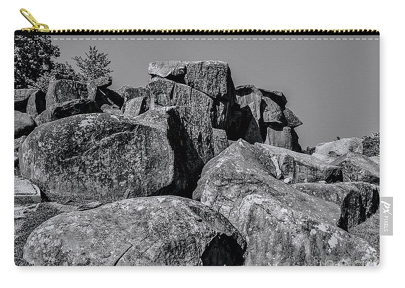 Gettysburg Carry-all Pouch featuring the photograph Little Round Top Gettysburg by Tommy Anderson