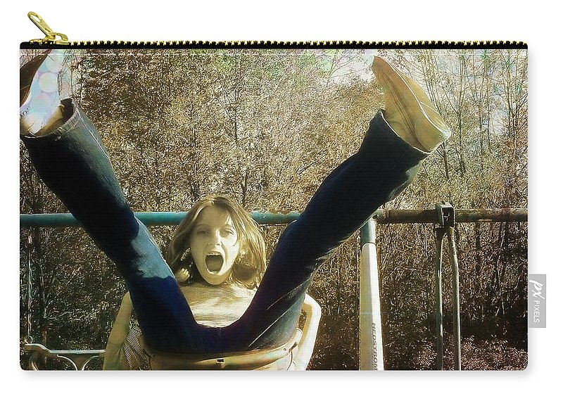 Forever Carry-all Pouch featuring the photograph Live Life by JAMART Photography