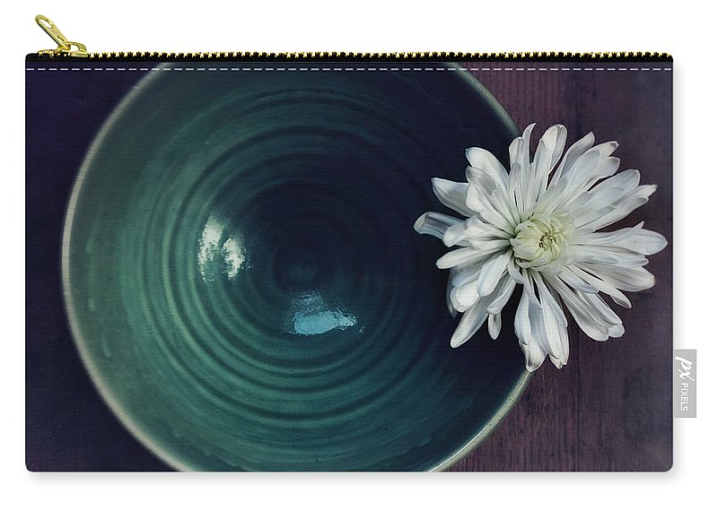Simplicity Carry-all Pouch featuring the photograph Live Simply by Priska Wettstein