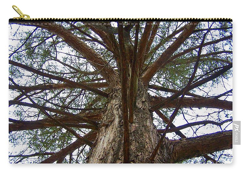 Life Carry-all Pouch featuring the photograph LIve Spokes by Nadine Rippelmeyer