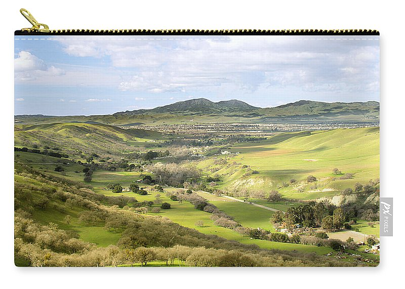 Landscape Carry-all Pouch featuring the photograph Livermore Valley by Karen W Meyer