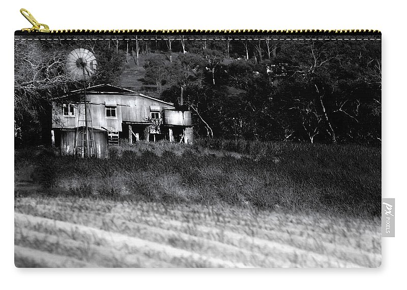 Landscapes Carry-all Pouch featuring the photograph Living On The Land by Holly Kempe