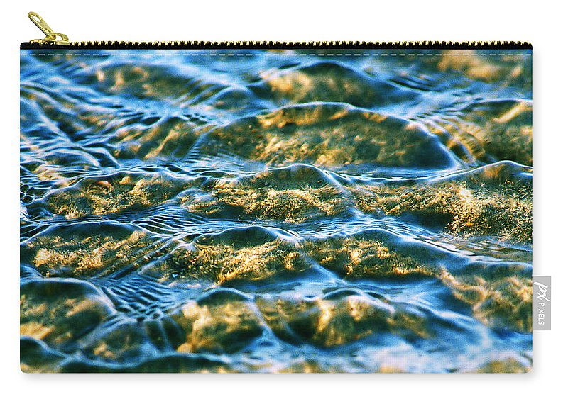Water Carry-all Pouch featuring the photograph Living Structures-2 by Casper Cammeraat