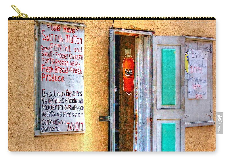Store Carry-all Pouch featuring the photograph Local Store by Debbi Granruth