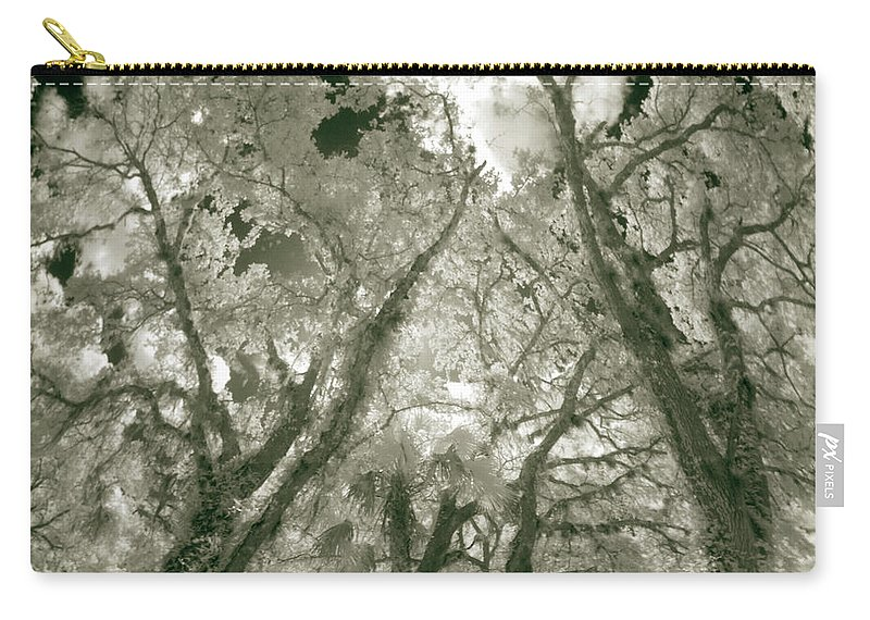 Trees Carry-all Pouch featuring the photograph Locals 1 by Gary Bartoloni