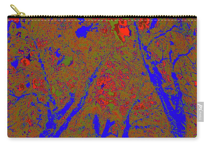 Trees Carry-all Pouch featuring the photograph Locals 22 by Gary Bartoloni
