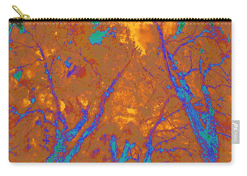 Trees Carry-all Pouch featuring the photograph Locals 4 by Gary Bartoloni