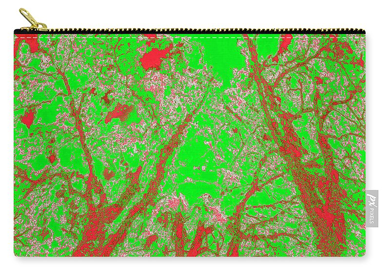 Trees Carry-all Pouch featuring the photograph Locals 56 by Gary Bartoloni