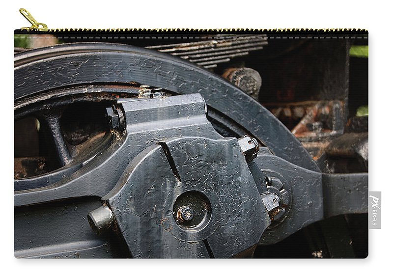 Antique Carry-all Pouch featuring the photograph Locomotion by Alan Look