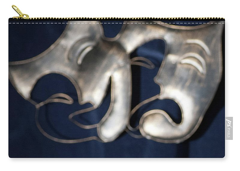 Logo Carry-all Pouch featuring the photograph Logo for Theater Productions by Alan D Smith