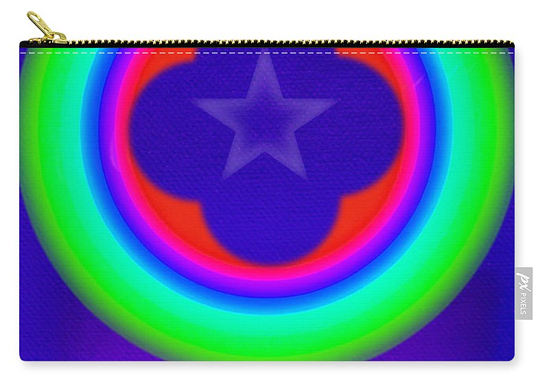 Abstract Carry-all Pouch featuring the painting Logos by Charles Stuart