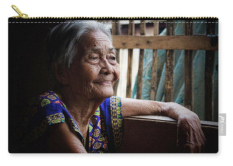 Philippines Carry-all Pouch featuring the photograph Lola by James BO Insogna