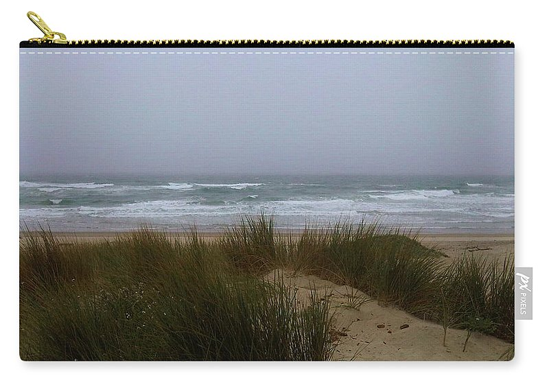Dunes Carry-all Pouch featuring the photograph Lompoc Sand Dunes by Misti Algeo