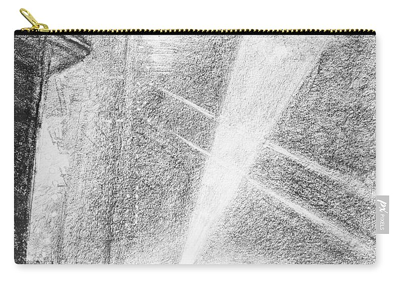 1914 Carry-all Pouch featuring the drawing London, Charing Cross. by Granger