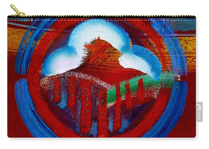 Star Carry-all Pouch featuring the painting Lone Star State by Charles Stuart