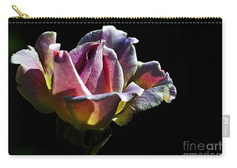 Clay Carry-all Pouch featuring the photograph Lonely by Clayton Bruster