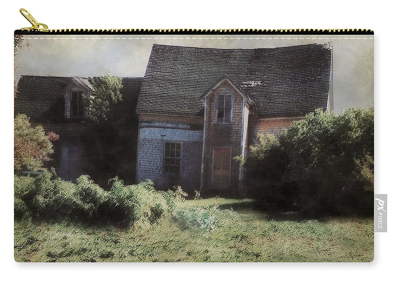 Landscape Carry-all Pouch featuring the painting Long Ago And Far Away by RC DeWinter