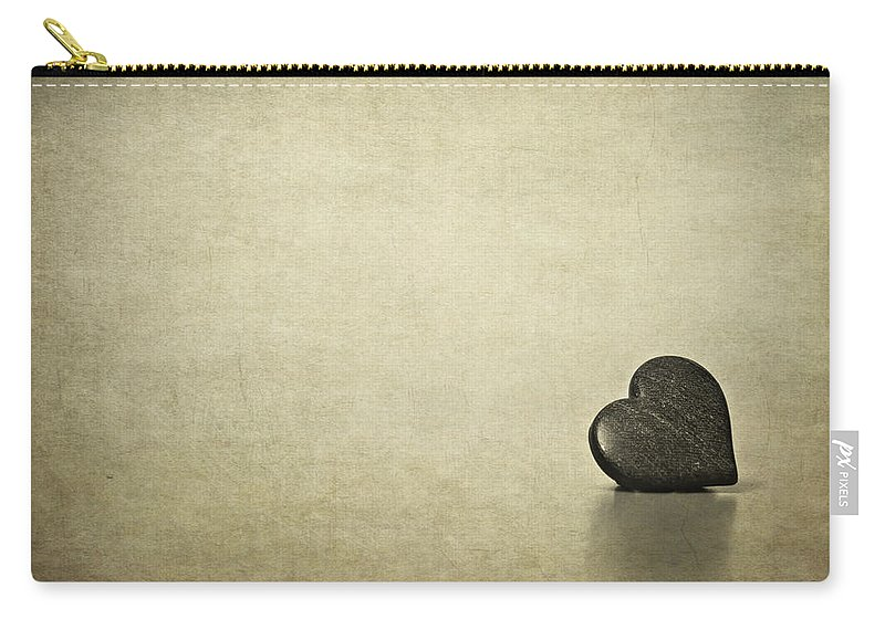 Heart Carry-all Pouch featuring the photograph Longing by Evelina Kremsdorf