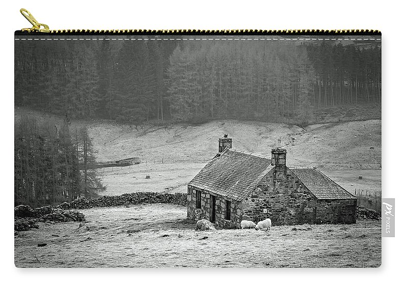 Scotland Carry-all Pouch featuring the photograph Longing For The Days Of Yore by Martina Schneeberg-Chrisien
