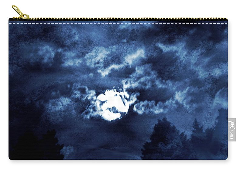 Night Carry-all Pouch featuring the photograph Look With A Pure Heart by Abstract Angel Artist Stephen K