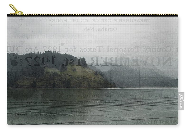 Lookout Point Lake Carry-all Pouch featuring the photograph Lookout Point Lake by Kyle Hanson