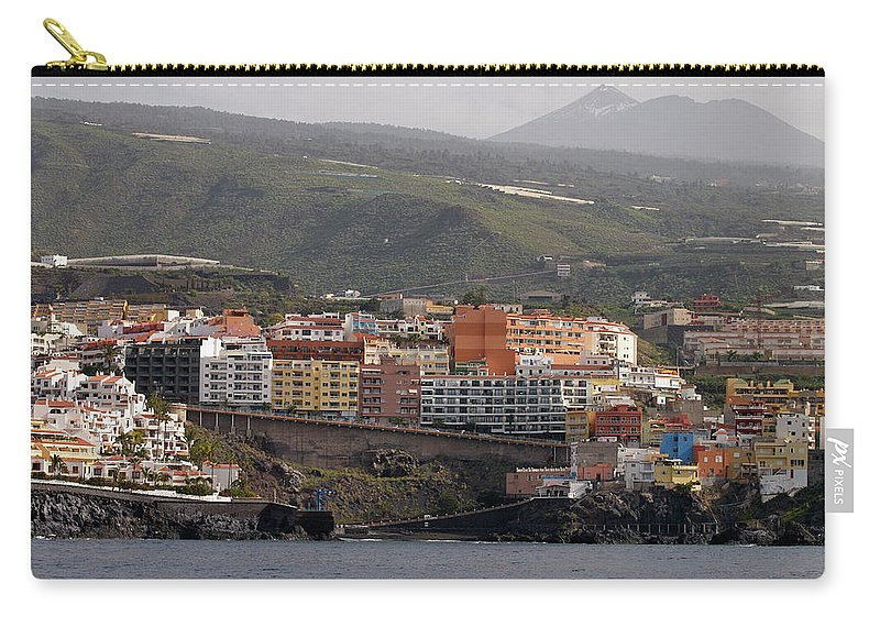 Valasretki Carry-all Pouch featuring the photograph Los Gigantes From The Sea 2 by Jouko Lehto