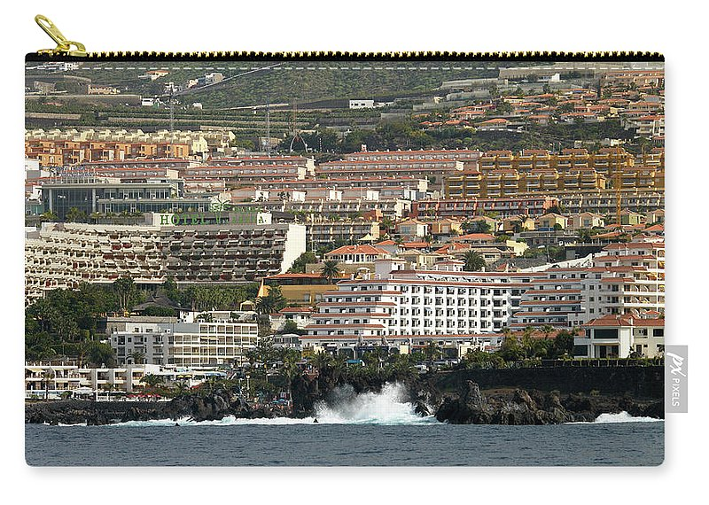 Valasretki Carry-all Pouch featuring the photograph Los Gigantes From The Sea by Jouko Lehto
