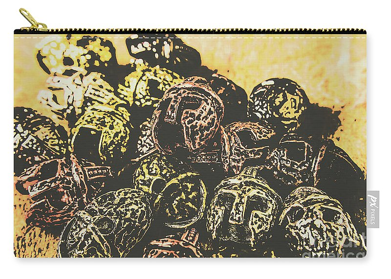 Gladiator Carry-all Pouch featuring the photograph Losses From The Colossus by Jorgo Photography - Wall Art Gallery