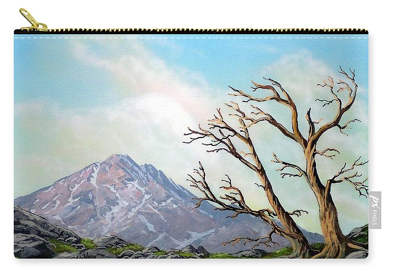 Wildflowers Carry-all Pouch featuring the painting Lost Battle by Frank Wilson