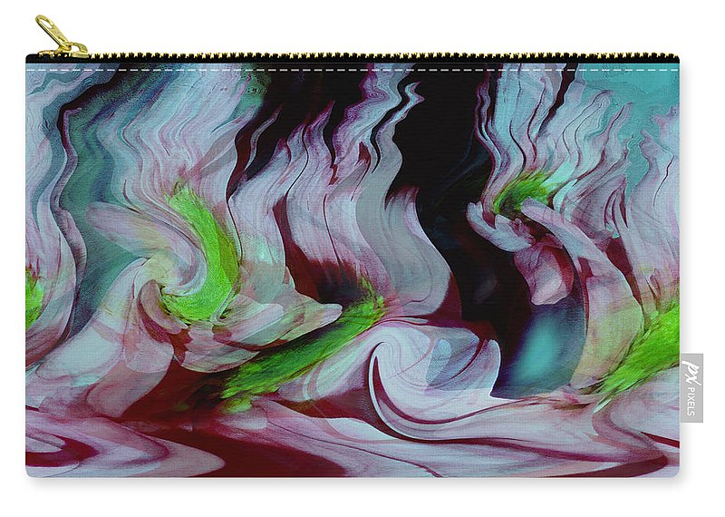Dream Art Carry-all Pouch featuring the digital art Lost In A Dream by Linda Sannuti