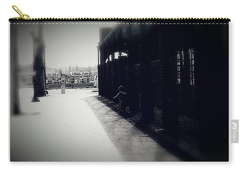 Portland Carry-all Pouch featuring the photograph Lost In Fun by Britney Parker