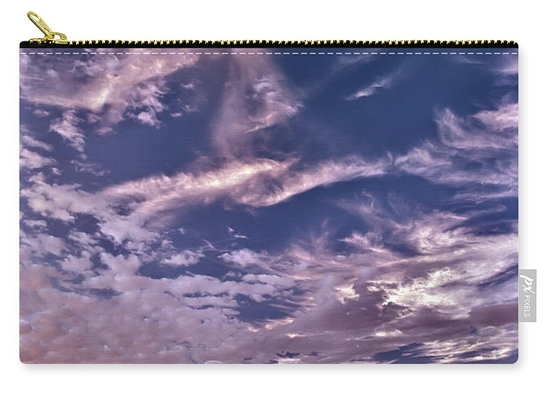 Idaho Carry-all Pouch featuring the photograph Lost River Sky by Leland D Howard